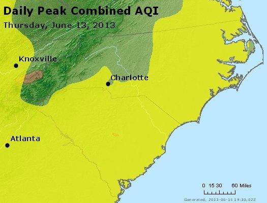 Peak AQI - http://files.airnowtech.org/airnow/2013/20130613/peak_aqi_nc_sc.jpg