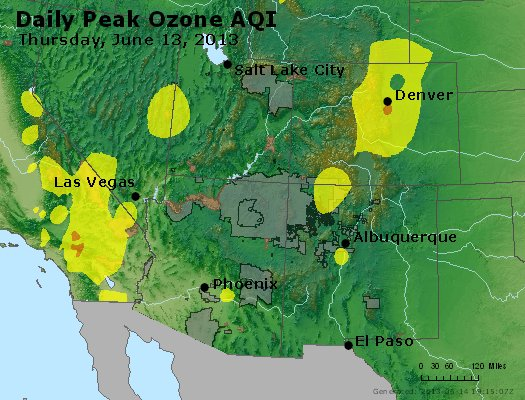 Peak Ozone (8-hour) - http://files.airnowtech.org/airnow/2013/20130613/peak_o3_co_ut_az_nm.jpg