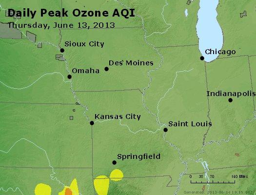 Peak Ozone (8-hour) - http://files.airnowtech.org/airnow/2013/20130613/peak_o3_ia_il_mo.jpg