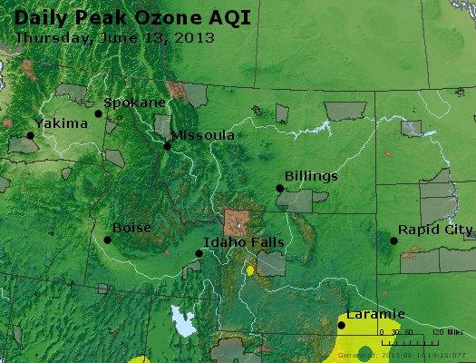 Peak Ozone (8-hour) - http://files.airnowtech.org/airnow/2013/20130613/peak_o3_mt_id_wy.jpg