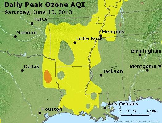 Peak Ozone (8-hour) - http://files.airnowtech.org/airnow/2013/20130615/peak_o3_ar_la_ms.jpg
