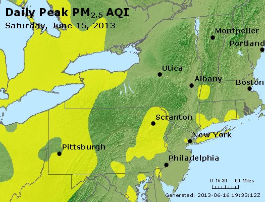 Peak Particles PM<sub>2.5</sub> (24-hour) - http://files.airnowtech.org/airnow/2013/20130615/peak_pm25_ny_pa_nj.jpg
