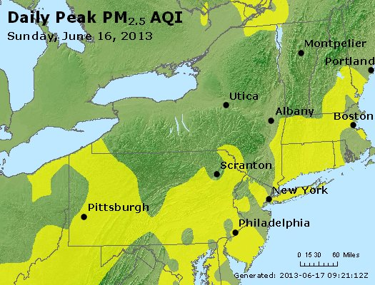 Peak Particles PM<sub>2.5</sub> (24-hour) - http://files.airnowtech.org/airnow/2013/20130616/peak_pm25_ny_pa_nj.jpg