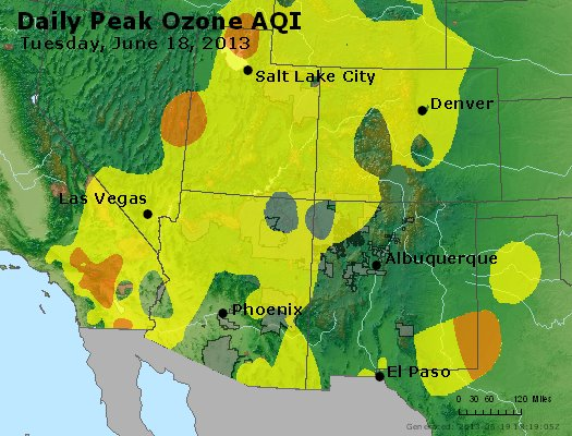 Peak Ozone (8-hour) - http://files.airnowtech.org/airnow/2013/20130618/peak_o3_co_ut_az_nm.jpg