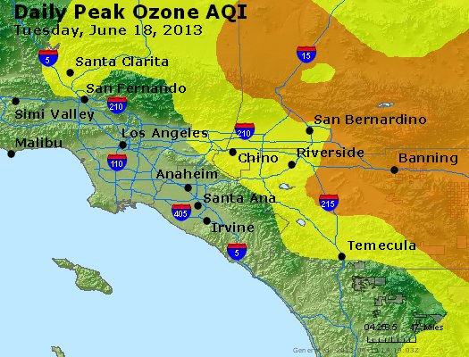 Peak Ozone (8-hour) - http://files.airnowtech.org/airnow/2013/20130618/peak_o3_losangeles_ca.jpg