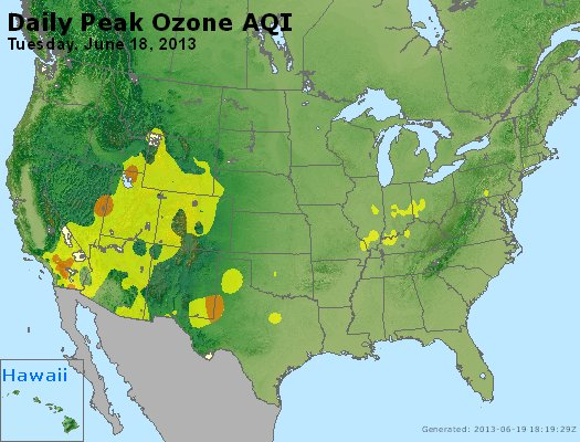 Peak Ozone (8-hour) - http://files.airnowtech.org/airnow/2013/20130618/peak_o3_usa.jpg