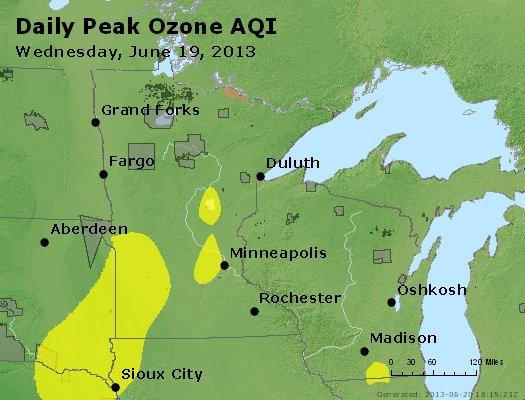 Peak Ozone (8-hour) - http://files.airnowtech.org/airnow/2013/20130619/peak_o3_mn_wi.jpg