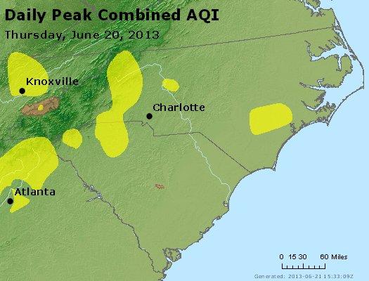 Peak AQI - http://files.airnowtech.org/airnow/2013/20130620/peak_aqi_nc_sc.jpg
