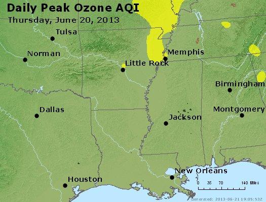 Peak Ozone (8-hour) - http://files.airnowtech.org/airnow/2013/20130620/peak_o3_ar_la_ms.jpg