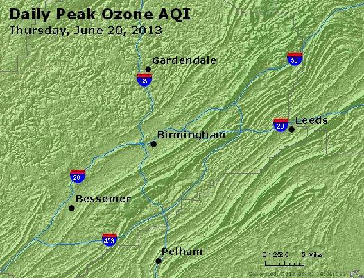 Peak Ozone (8-hour) - http://files.airnowtech.org/airnow/2013/20130620/peak_o3_birmingham_al.jpg
