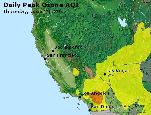 Peak Ozone (8-hour) - http://files.airnowtech.org/airnow/2013/20130620/peak_o3_ca_nv.jpg