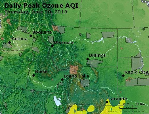 Peak Ozone (8-hour) - http://files.airnowtech.org/airnow/2013/20130620/peak_o3_mt_id_wy.jpg