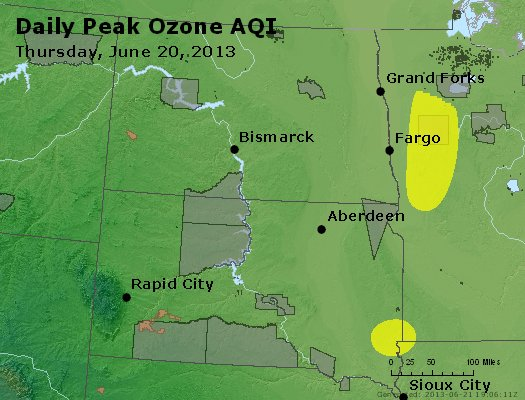 Peak Ozone (8-hour) - http://files.airnowtech.org/airnow/2013/20130620/peak_o3_nd_sd.jpg