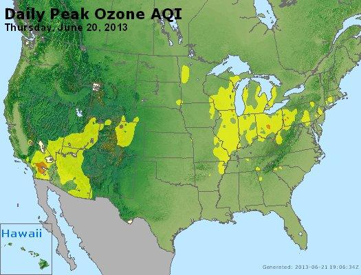 Peak Ozone (8-hour) - http://files.airnowtech.org/airnow/2013/20130620/peak_o3_usa.jpg