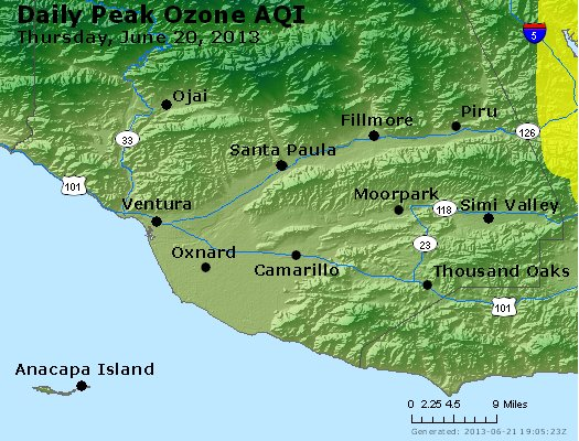Peak Ozone (8-hour) - http://files.airnowtech.org/airnow/2013/20130620/peak_o3_ventura.jpg