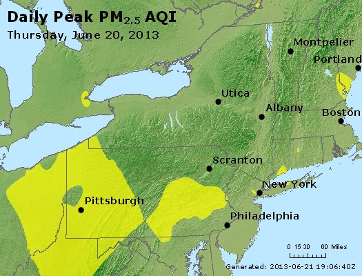 Peak Particles PM<sub>2.5</sub> (24-hour) - http://files.airnowtech.org/airnow/2013/20130620/peak_pm25_ny_pa_nj.jpg