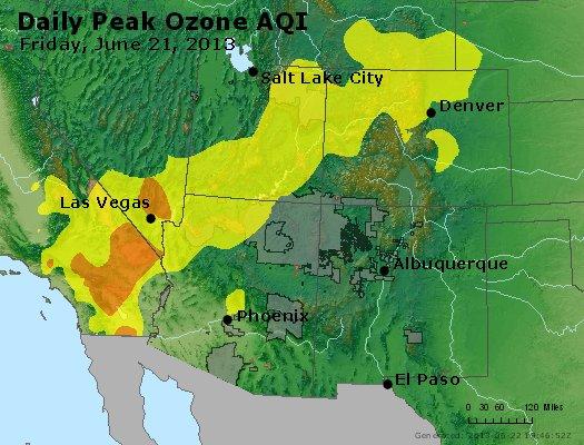 Peak Ozone (8-hour) - http://files.airnowtech.org/airnow/2013/20130621/peak_o3_co_ut_az_nm.jpg