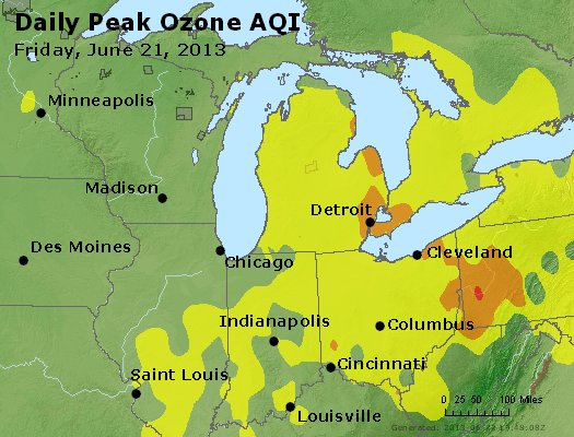 Peak Ozone (8-hour) - http://files.airnowtech.org/airnow/2013/20130621/peak_o3_mi_in_oh.jpg