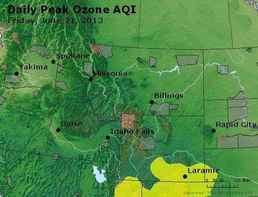 Peak Ozone (8-hour) - http://files.airnowtech.org/airnow/2013/20130621/peak_o3_mt_id_wy.jpg
