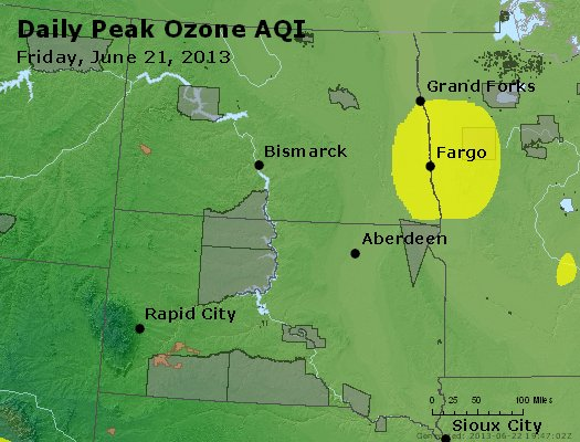 Peak Ozone (8-hour) - http://files.airnowtech.org/airnow/2013/20130621/peak_o3_nd_sd.jpg