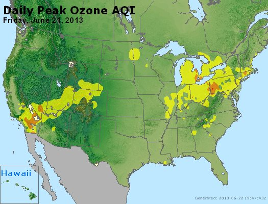Peak Ozone (8-hour) - http://files.airnowtech.org/airnow/2013/20130621/peak_o3_usa.jpg