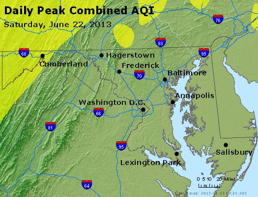 Peak AQI - http://files.airnowtech.org/airnow/2013/20130622/peak_aqi_maryland.jpg
