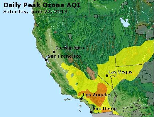 Peak Ozone (8-hour) - http://files.airnowtech.org/airnow/2013/20130622/peak_o3_ca_nv.jpg