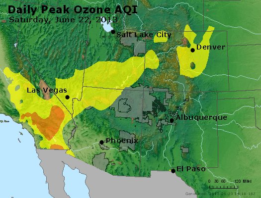 Peak Ozone (8-hour) - http://files.airnowtech.org/airnow/2013/20130622/peak_o3_co_ut_az_nm.jpg