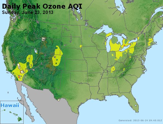 Peak Ozone (8-hour) - http://files.airnowtech.org/airnow/2013/20130623/peak_o3_usa.jpg
