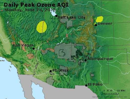 Peak Ozone (8-hour) - http://files.airnowtech.org/airnow/2013/20130624/peak_o3_co_ut_az_nm.jpg