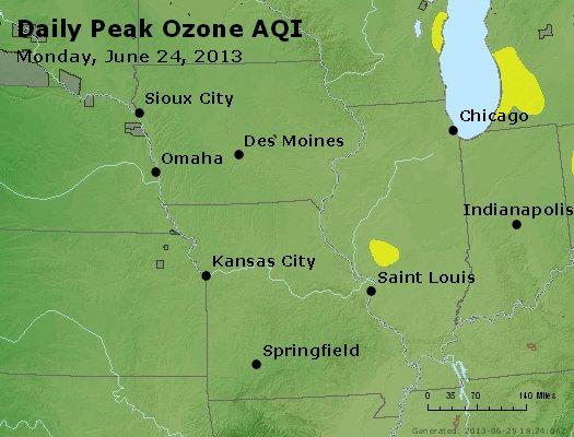 Peak Ozone (8-hour) - http://files.airnowtech.org/airnow/2013/20130624/peak_o3_ia_il_mo.jpg
