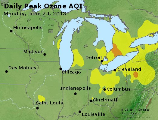 Peak Ozone (8-hour) - http://files.airnowtech.org/airnow/2013/20130624/peak_o3_mi_in_oh.jpg