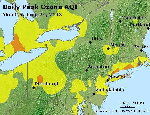 Peak Ozone (8-hour) - http://files.airnowtech.org/airnow/2013/20130624/peak_o3_ny_pa_nj.jpg