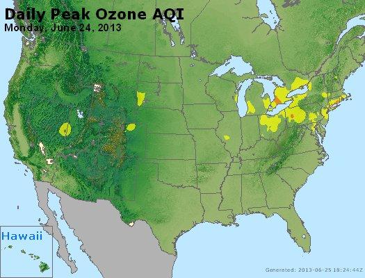 Peak Ozone (8-hour) - http://files.airnowtech.org/airnow/2013/20130624/peak_o3_usa.jpg