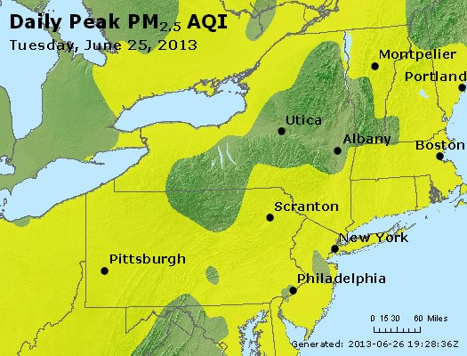 Peak Particles PM<sub>2.5</sub> (24-hour) - http://files.airnowtech.org/airnow/2013/20130625/peak_pm25_ny_pa_nj.jpg