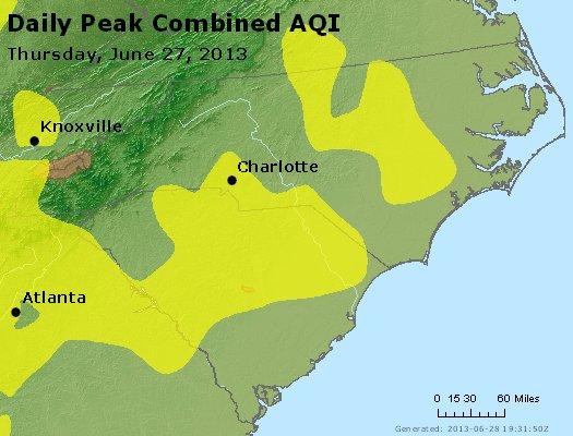 Peak AQI - http://files.airnowtech.org/airnow/2013/20130627/peak_aqi_nc_sc.jpg