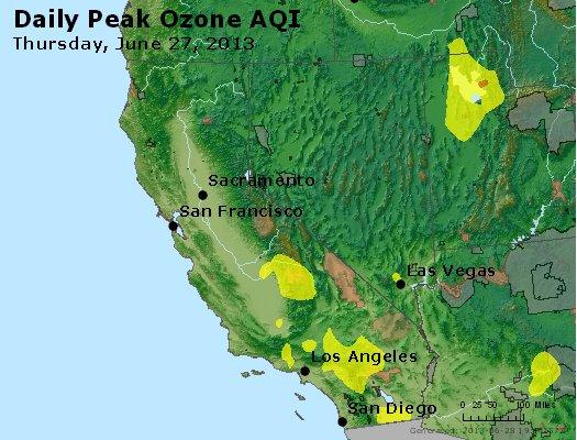 Peak Ozone (8-hour) - http://files.airnowtech.org/airnow/2013/20130627/peak_o3_ca_nv.jpg