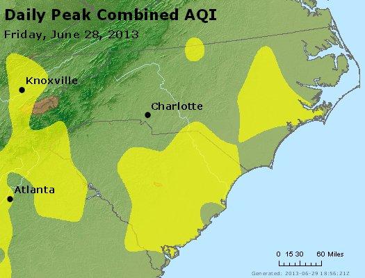 Peak AQI - http://files.airnowtech.org/airnow/2013/20130628/peak_aqi_nc_sc.jpg