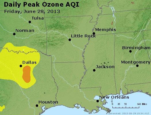 Peak Ozone (8-hour) - http://files.airnowtech.org/airnow/2013/20130628/peak_o3_ar_la_ms.jpg