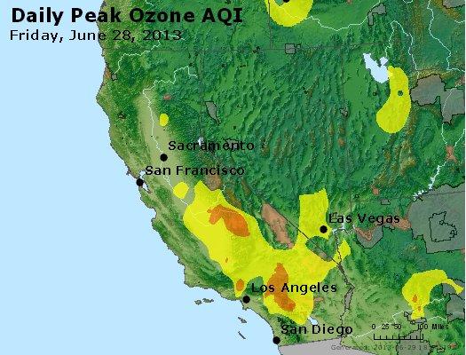 Peak Ozone (8-hour) - http://files.airnowtech.org/airnow/2013/20130628/peak_o3_ca_nv.jpg