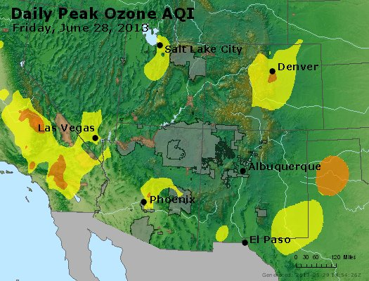 Peak Ozone (8-hour) - http://files.airnowtech.org/airnow/2013/20130628/peak_o3_co_ut_az_nm.jpg