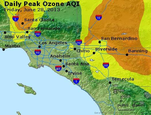 Peak Ozone (8-hour) - http://files.airnowtech.org/airnow/2013/20130628/peak_o3_losangeles_ca.jpg