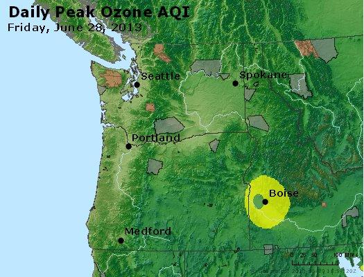 Peak Ozone (8-hour) - http://files.airnowtech.org/airnow/2013/20130628/peak_o3_wa_or.jpg