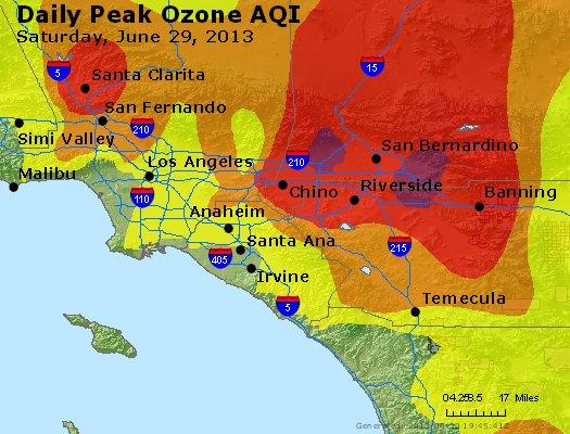 Peak Ozone (8-hour) - http://files.airnowtech.org/airnow/2013/20130629/peak_o3_losangeles_ca.jpg