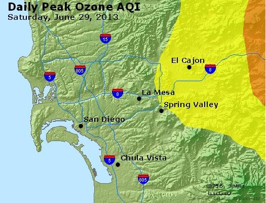 Peak Ozone (8-hour) - http://files.airnowtech.org/airnow/2013/20130629/peak_o3_sandiego_ca.jpg