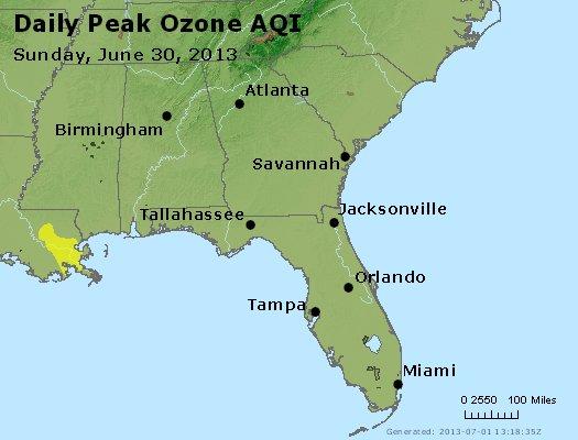 Peak Ozone (8-hour) - http://files.airnowtech.org/airnow/2013/20130630/peak_o3_al_ga_fl.jpg