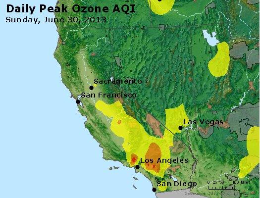 Peak Ozone (8-hour) - http://files.airnowtech.org/airnow/2013/20130630/peak_o3_ca_nv.jpg