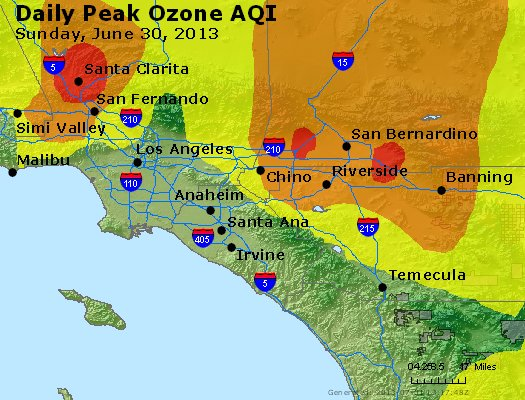 Peak Ozone (8-hour) - http://files.airnowtech.org/airnow/2013/20130630/peak_o3_losangeles_ca.jpg