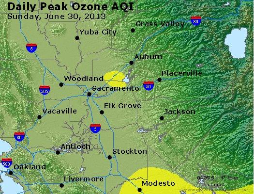 Peak Ozone (8-hour) - http://files.airnowtech.org/airnow/2013/20130630/peak_o3_sacramento_ca.jpg