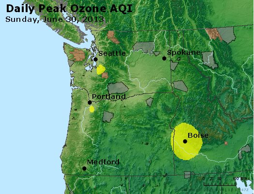 Peak Ozone (8-hour) - http://files.airnowtech.org/airnow/2013/20130630/peak_o3_wa_or.jpg